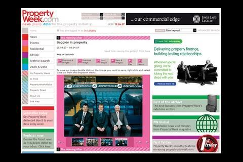 Photo slide shows and videos of the top events at the Morning After and Property Week Live